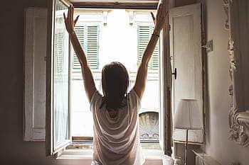 開窗 空氣流通